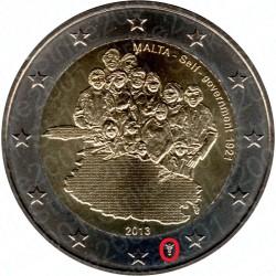 Malta - 2€ Comm. 2013 FDC Governo Autonomo Zecca Olanda