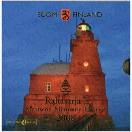 Finlandia - Divisionale Ufficiale 2008 FDC