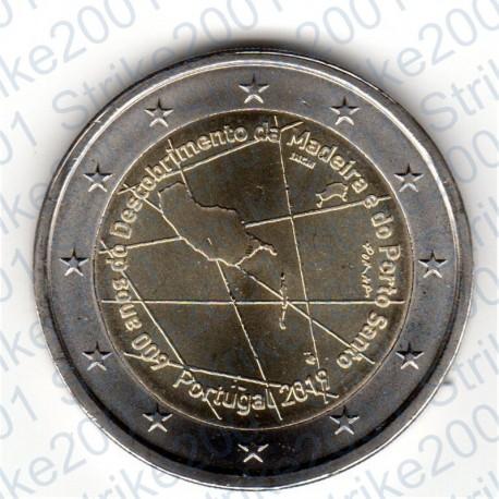 Portogallo - 2€ Comm. 2019 FDC Isola di Madeira