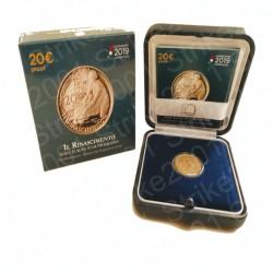 Italia - 20€ 2019 FS IL RINASCIMENTO