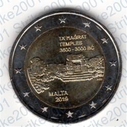 Malta - 2€ Comm. 2019 FDC Templi Ta Hagrat