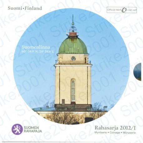 Finlandia - Divisionale Ufficiale 2012 FDC