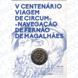 Portogallo - 2€ Comm. 2019 FDC Ferdinando Magellano in Folder