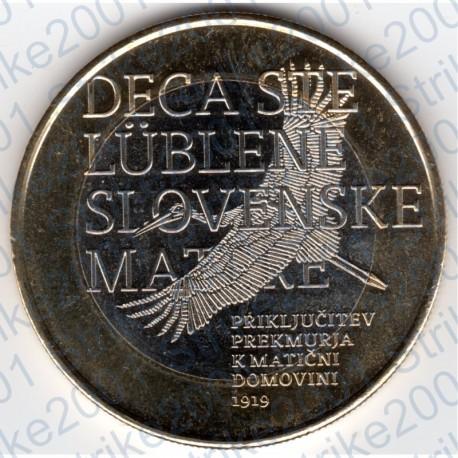 Slovenia - 3€ 2019 FDC Annessione Regione Prekmurje