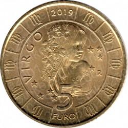 San Marino - 5€ 2019 FDC Zodiaco Vergine - Virgo