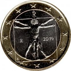 Italia 2019 - 1€ FDC