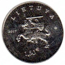 Lituania - 1,5€ 2017 FDC Cavallo e Cani da caccia