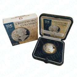 Italia - 10€ 2019 FS Cristoforo Colombo
