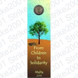 Malta - 2€ Comm. 2019 Natura e Ambiente Cornucopia in Folder