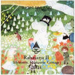 Finlandia - Divisionale Ufficiale 2004 II FDC Moomin