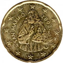 San Marino 2003 - 20 Cent. FDC
