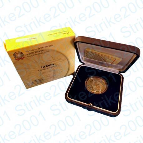 Italia - 10€ 2006 FS Leonardo da Vinci