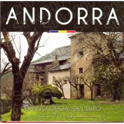 Andorra - Divisionale Ufficiale 2019 FDC