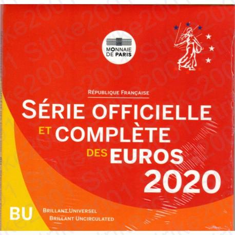 Francia - Divisionale Ufficiale 2020 FDC