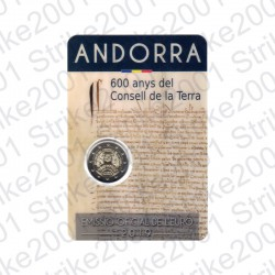 Andorra - 2€ Comm. 2019 FDC Consell de la Terra