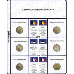 Kit Foglio 2 Euro Comm. 2019