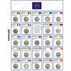 Kit Foglio Aggiornamento 2 Euro Comm. 2019 - Euro Junior