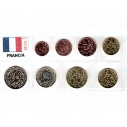 Francia - Blister 2020 FDC