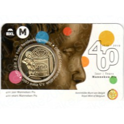 Belgio - 2,5€ 2019 FDC Manneken Pis (Olanda)