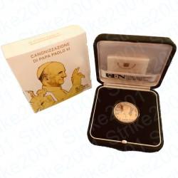 Vaticano - 5€ 2018 FS Argento con Oro Paolo VI