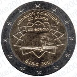 Irlanda - 2€ Comm. 2007 FDC Trattato Roma