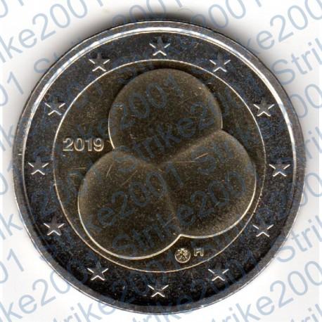 Finlandia - 2€ Comm. 2019 FDC 100° Costituzione