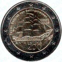 Estonia - 2€ Comm. 2020 FDC 200° scoperta Antartide