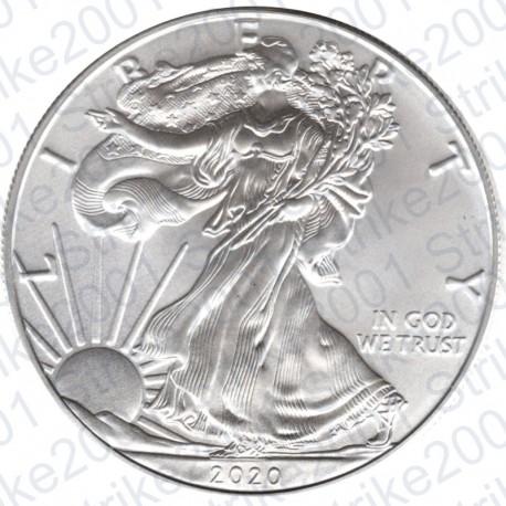 America - 1 Dollaro Argento Liberty Oncia 2020 FDC