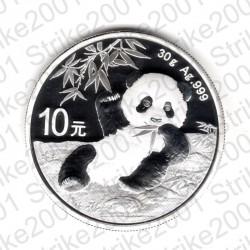 Cina - 1 Oncia Argento 2020 FDC Panda