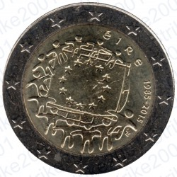 Irlanda - 2€ Comm. 2015 FDC 30° Ann. Bandiera Europea
