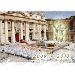 Vaticano - 2€ Comm. 2010 Anno Sacerdotale in busta Filatelica