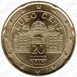 Austria 2010 - 20 Cent. FDC