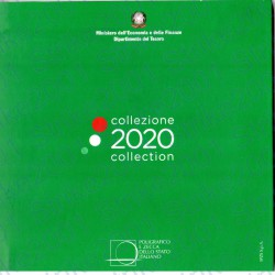 Italia - Divisionale Ufficiale 2020 FDC 8 Valori