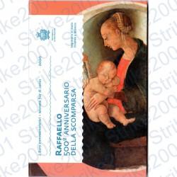 San Marino - 2€ Comm. 2020 FDC Raffaello in Folder