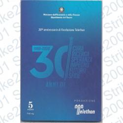 Italia - 5€ 2020 FDC 30°Telethon
