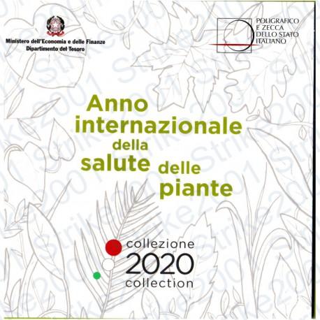 Italia - Divisionale Ufficiale 2020 FDC 9 Valori