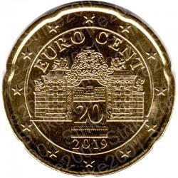 Austria 2019 - 20 Cent. FDC