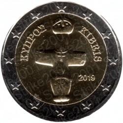 Cipro 2019 - 2€ FDC