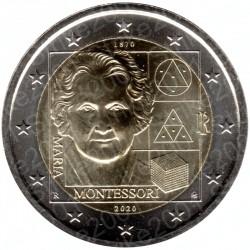 Italia - 2€ Comm. 2020 FDC Maria Montessori