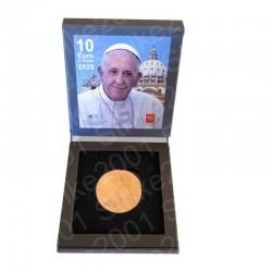 Vaticano - 10€ Rame 2020 FDC Astuccio