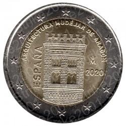 Spagna - 2€ Comm. 2020 FDC Aragona