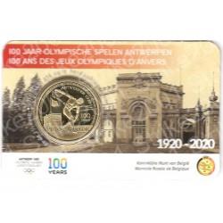 Belgio - 2,5€ 2020 FDC Olimpiadi Anversa in Folder