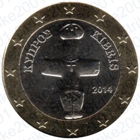 Cipro 2014 - 1€ FDC