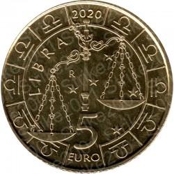 San Marino - 5€ 2020 FDC Zodiaco Bilancia - Libra