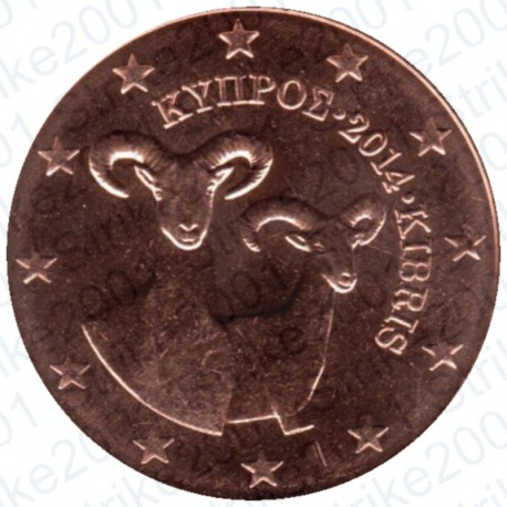 Cipro 2014 - 2 Cent. FDC
