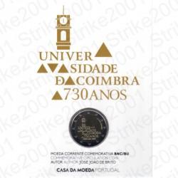 Portogallo - 2€ Comm. 2020 FDC Università Coimbra in Folder