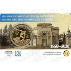 Belgio - 2,5€ 2020 FDC Olimpiadi Anversa Colorato in Folder
