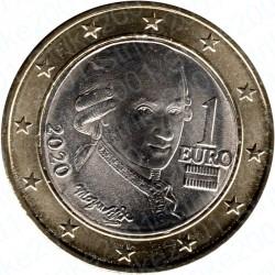 Austria 2020 - 1€ FDC