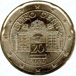 Austria 2020 - 20 Cent. FDC