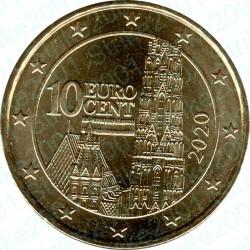 Austria 2020 - 10 Cent. FDC